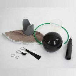 3 piège à taons à suspendre taonx mini, le paturon, anti taon cheval