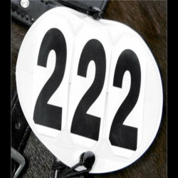 1 Support porte numéro rond tête cheval : Waldhausen - Le Paturon