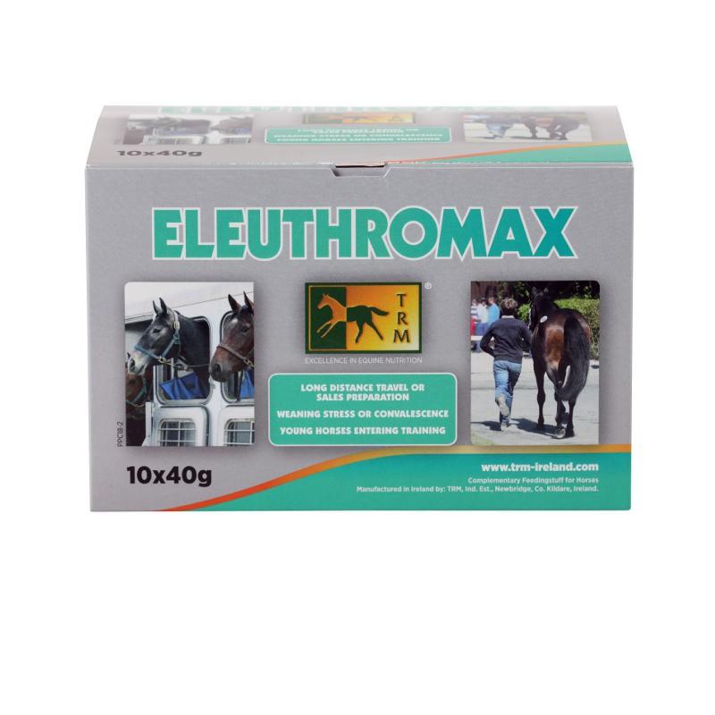1 Eleuthromax TRM 40 g x 10 Stress et puissance cheval - Le Paturon