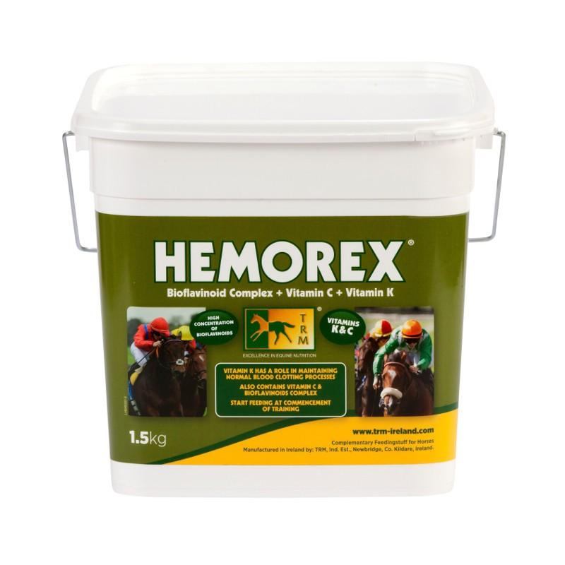 1 Hemorex TRM Saignement cheval - Le Paturon