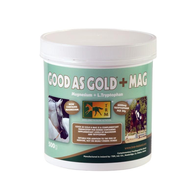 1 Good As Gold + Magnésium TRM Stress cheval chaud - Le Paturon