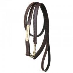 1 Longe 270 cm Présentation chaine Cuir Kentucky,Kentucky,Licol cheval et Muselaine