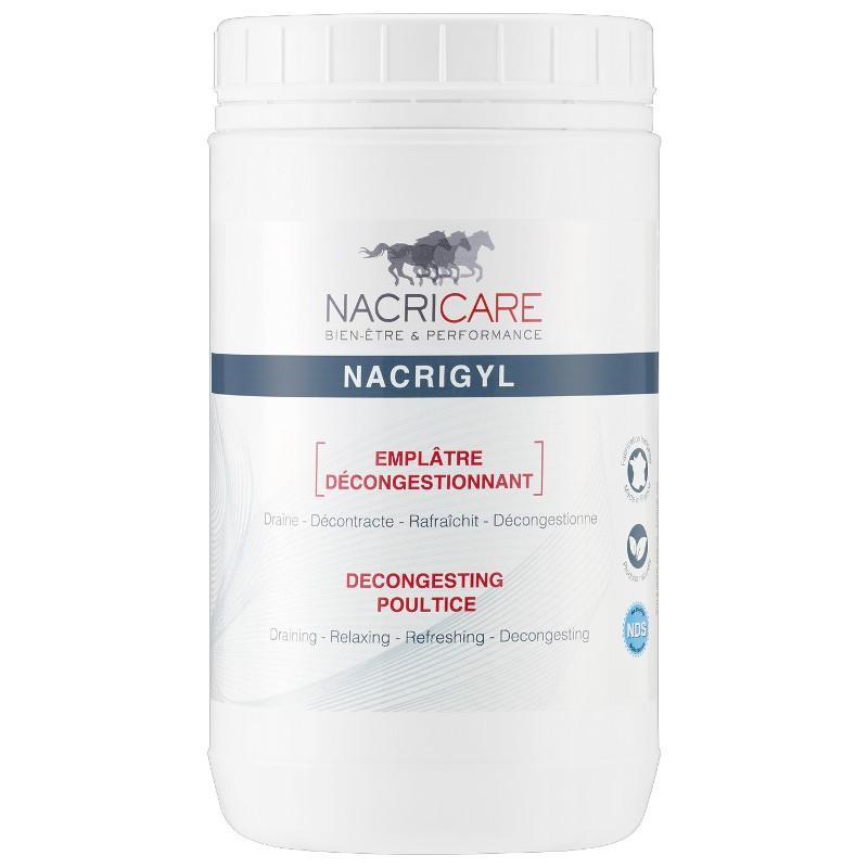 Nacrigyl décongestionnant tendon cheval, Nacricare,Baume et Argile cheval