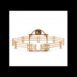 1 Kit de jeux Pré pour chevaux avec portail,Schleich,Schleich