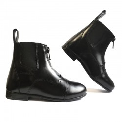 1 Boots équitation cuir lisse Enfant Bouloc Cavalhorse : Boots équitation - Le Paturon