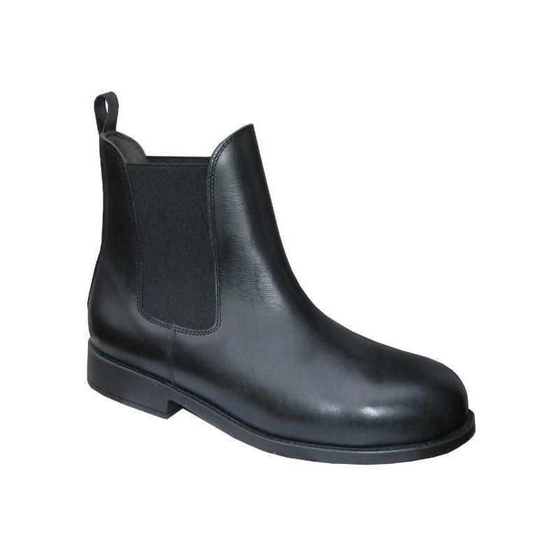 1 Boots de sécurité cuir Rider Cavalhorse : Boots Equitation - Le Paturon