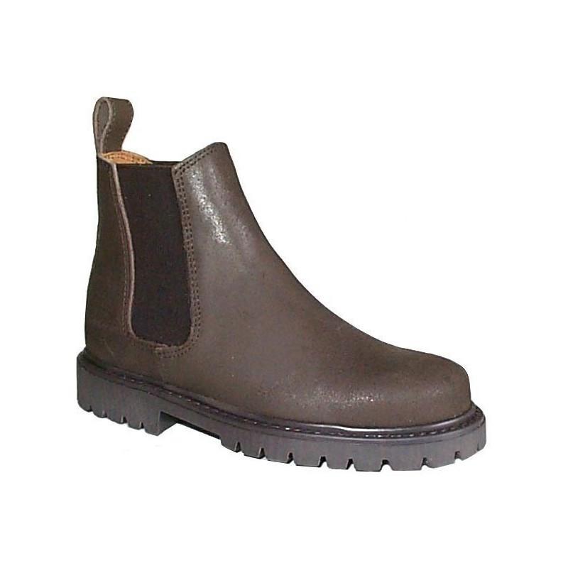 1 Boots équitation cuir graissé Junior, cavalhorse : Boots Equitation - Le Paturon