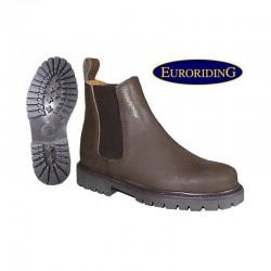 2 Boots équitation cuir graissé Junior, cavalhorse : Boots Equitation - Le Paturon