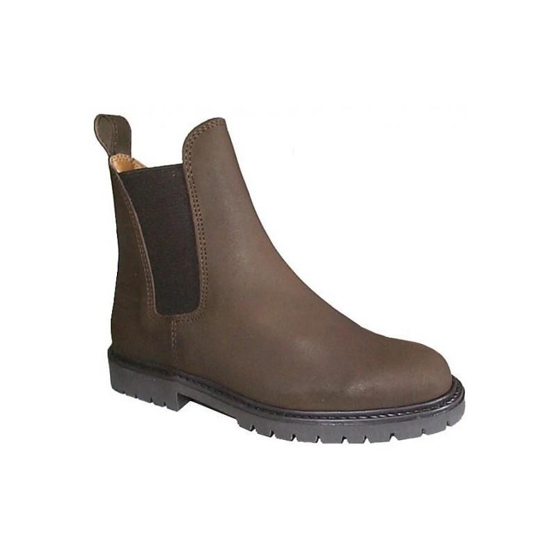 1 Boots cuir graissé Balma Cavalhorse : boots d équitation - Le Paturon