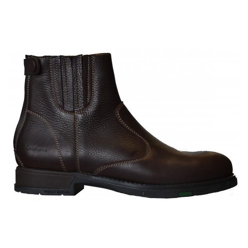 1 Boots équitation cuir grainé Fonsorbes Cavalhorse : Boots Equitation - Le Paturon