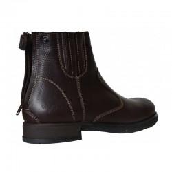 2 Boots équitation cuir grainé Fonsorbes Cavalhorse : Boots Equitation - Le Paturon