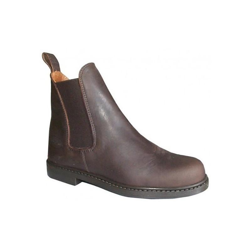 1 Boots cuir graissé Blagnac Cavalhorse : Boots équitation - Le Paturon