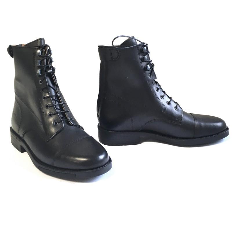 1 Boots équitation cuir lisse Derby Ride cavalhorse : Boots Equitation - Le Paturon