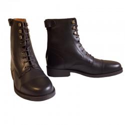 4 Boots équitation cuir lisse Derby Ride cavalhorse : Boots Equitation - Le Paturon