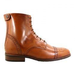 1 Boots cuir lisse Cyprien Cavalhorse : boots équitation - Le Paturon