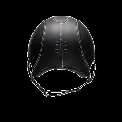 3 Casque équitation cuir lisse Epona Egide - Le Paturon