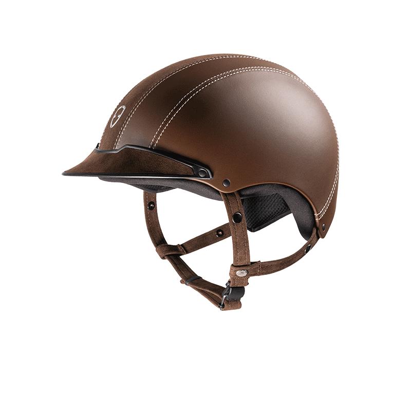 1 Casque équitation alcantara Epona Egide - Le Paturon