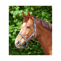 4 Licol cheval nylon doublé réglable Esperia - Waldhausen - Le Paturon