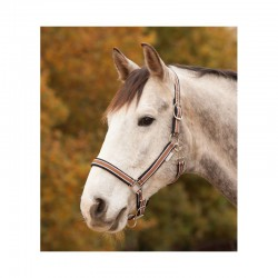 5 Licol cheval nylon doublé réglable Esperia - Waldhausen - Le Paturon