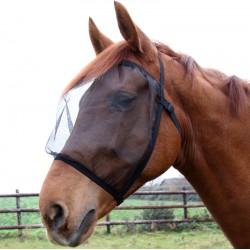 1 Masque anti-mouches sans oreilles Basic, Waldhausen Masque Anti Mouche cheval