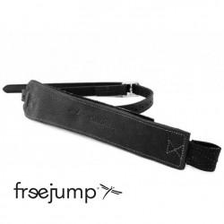 1 étrivières Freejump Pro Grip monobrin cuir noir : Etrivières