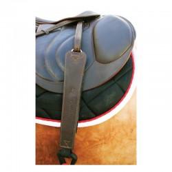 4 étrivières Freejump Pro Grip monobrin cuir noir : Etrivières