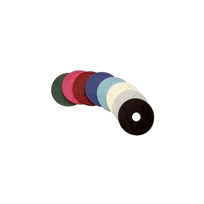 1 Rondelles de mors colorées en caoutchouc : Le Paturon