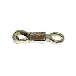 1 Mousqueton de sécurité nickelé 1,6 cm pour longe : Le Paturon
