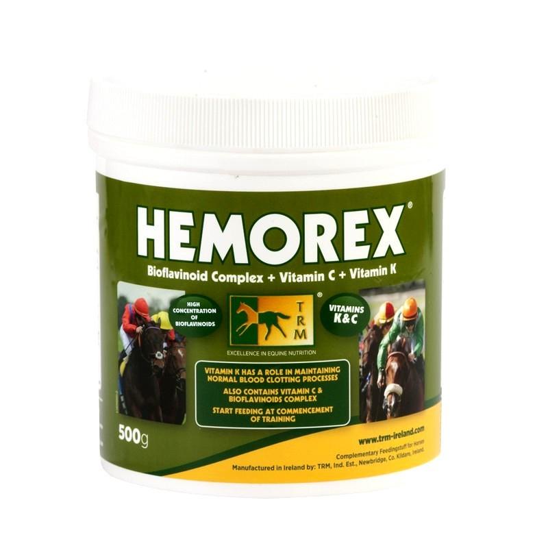 1 Complément anti saignement naseaux TRM 500g HEMOREX : TRM - Le Paturon