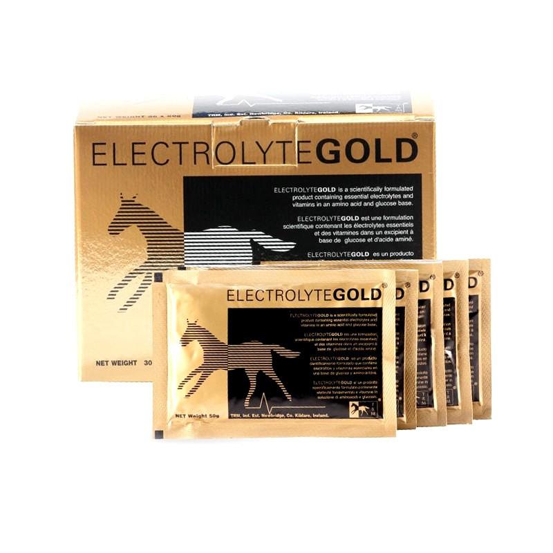 1 Electrolytes gold cheval TRM 30 x 50g : TRM - Le Paturon