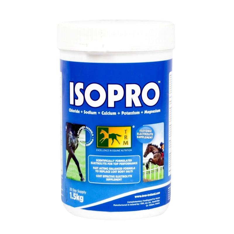 1 Electrolytes isotoniques Isopro TRM chevaux : TRM - Le Paturon