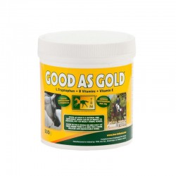 1 Complément Good As Gold stress cheval 1,5 kg : Complément Cheval TRM - Le Paturon