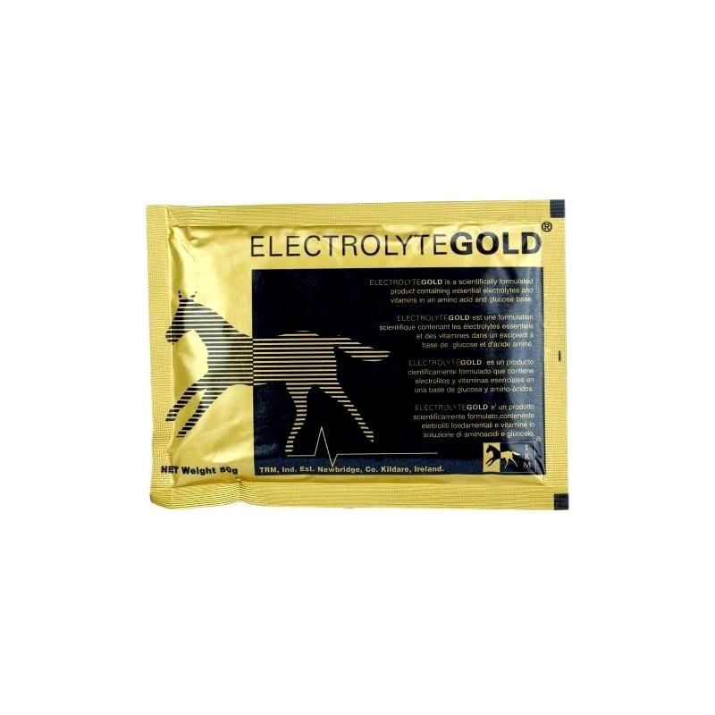 1 Electrolytes chevaux en poudre Gold 50g : Complément Cheval TRM - Le Paturon