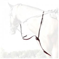 1 Martingale en cuir, martingale et collier strass, IHWT, Le Paturon