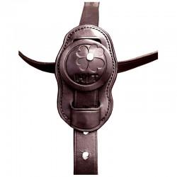 4 Martingale en cuir, martingale et collier strass, IHWT, Le Paturon
