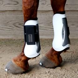 2 Protège tendons cheval, Protège tendons Waldhausen, Le Paturon