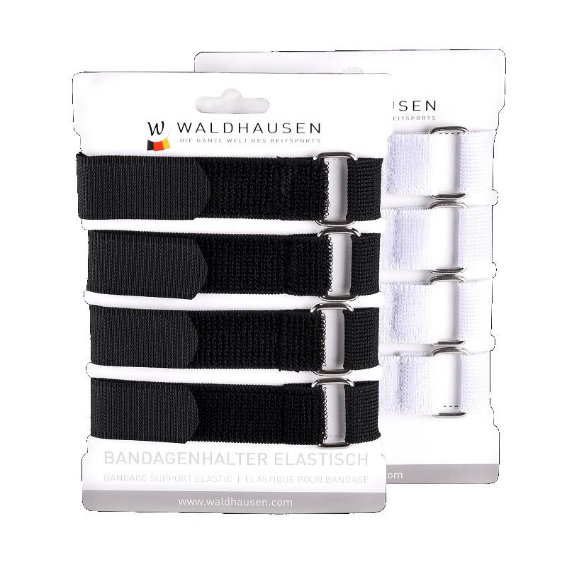 1 Fixation pour bandes cheval, Fixation bandes velcro élastique, Waldhausen, Le Paturon