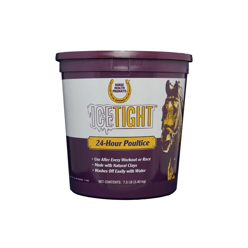 1 Ice Tight Poultice, Farnam, Cataplasme argile cheval, Le Paturon