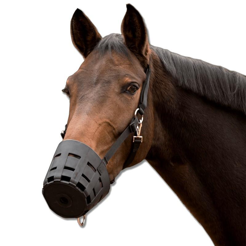 1 Muselière cheval, Easy Clean TPU Waldhausen - Le Paturon
