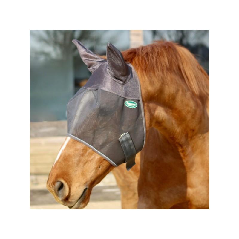 1 Masque Emouchine Ravene : Masque anti-mouches cheval - Le Paturon