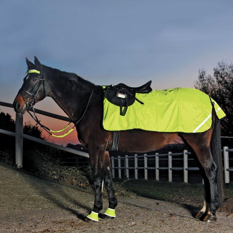 1 Couvre-reins Waldhausen, Couvre-reins réfléchissant imperméable cheval, Le Paturon