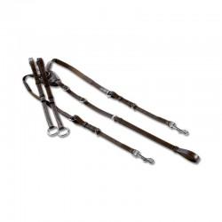 1 Collier bricole élastique X-line, Collier bricole élastique cheval, Le Paturon - Waldhausen
