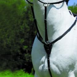2 Collier bricole élastique X-line, Collier bricole élastique cheval, Le Paturon - Waldhausen