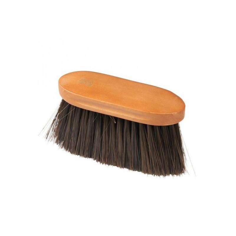 1 Bouchon poils longs Hard Wood, Brosse pansage cheval, Le Paturon
