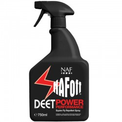 1 Naf Off Deet Power, Naf Off Deet Power Gel spray, Anti-mouches Cheval - Le Paturon