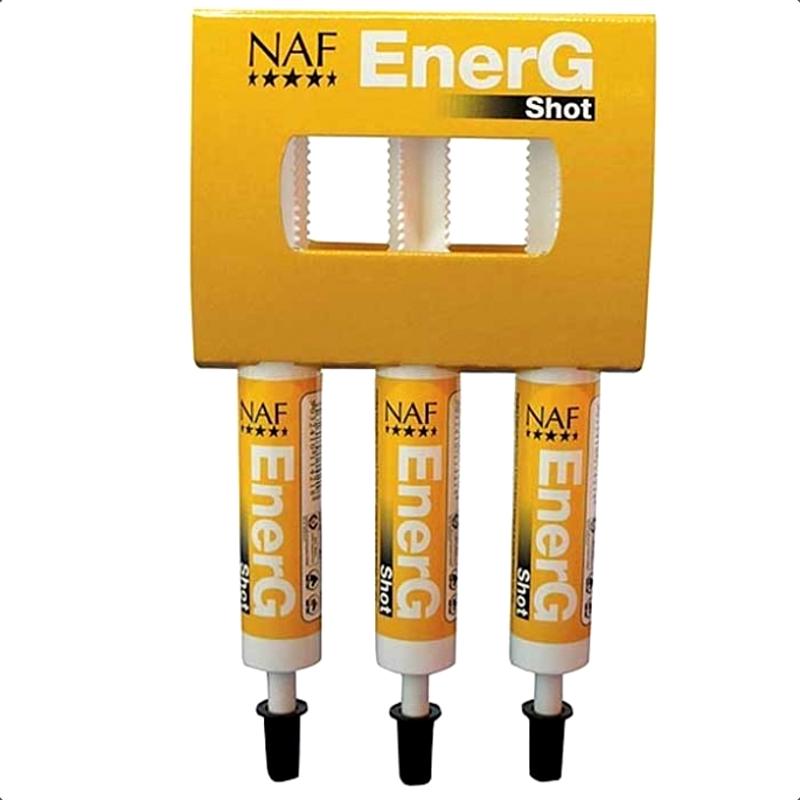 1 Naf EnerG Shot Energie Fer cheval,Naf Equine,Vitamine cheval