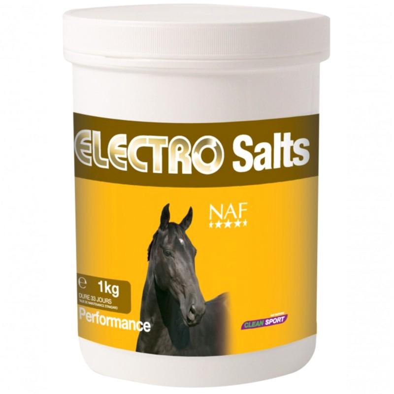 1 Naf Electro Salts - Electrolytes poudre cheval,Naf Equine,Electrolyte cheval