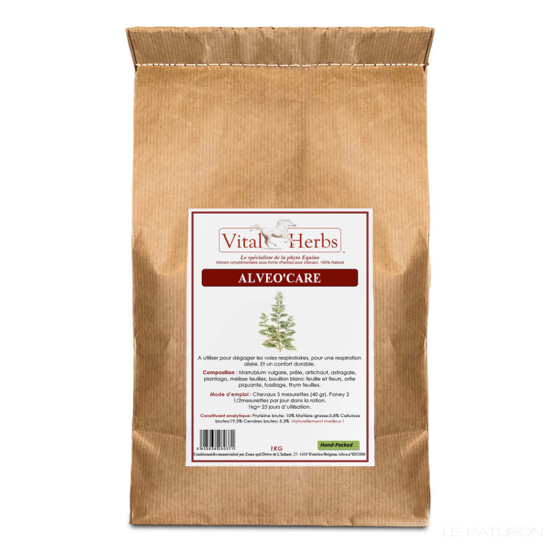 1 Alveo Care Cheval ,Vital Herbs,Respiration et Toux cheval