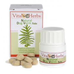 1 Natural Dog Verm Chat Chien ,Vital Herbs,Santé chat et chien