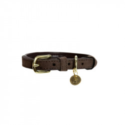 1 Collier chien Velvet Leather Kentucky, Le Paturon - Kentucky